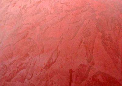 marmorino-plaster-red